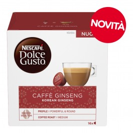 16 Capsule NESCAFE' DOLCE GUSTO - CAFFE' GINSENG