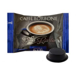 100 Capsule Borbone Don Carlo Compatibili Lavazza A Modo Mio Miscela Blu'