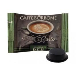 200 Capsule Borbone Don Carlo Compatibili Lavazza A Modo Mio Miscela Decaffeinato
