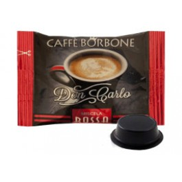 200 Capsule Borbone Don Carlo Compatibili Lavazza A Modo Mio Miscela Rossa