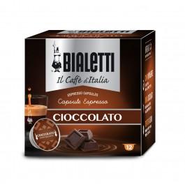 12 Capsule Caffe' BIALETTI Gusto CIOCCOLATO
