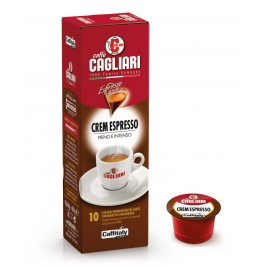 10 Capsule CAFFITALY - CAGLIARI CREM ESPRESSO