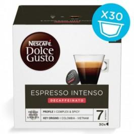 102 Capsule (90+12 OMAGGIO) Nescafè Dolce Gusto Decaffeinato Espresso Intenso Magnum Pack