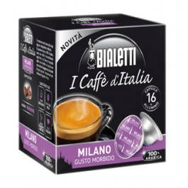16 Capsule Caffe' BIALETTI Gusto MILANO Morbido