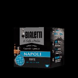 16 Capsule Caffe' BIALETTI Gusto NAPOLI Forte