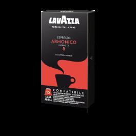 100 Capsule LAVAZZA Compatibili NESPRESSO gusto ARMONICO