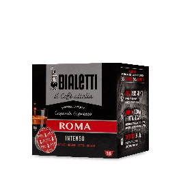16 Capsule Caffe' BIALETTI Gusto ROMA Intenso