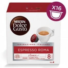 96 Capsule Nescafè Dolce Gusto Espresso Roma