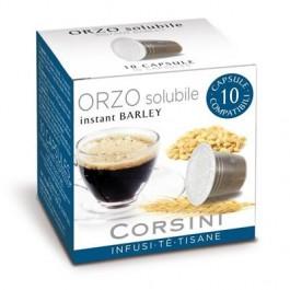 10 Capsule Compatibili Nespresso Caffe' Corsini Orzo Solubile