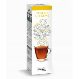 10 Capsule CAFFITALY - ECAFFE' TE' NERO AL LIMONE