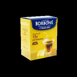 16 Capsule Caffe' Borbone The al Limone compatibili A Modo Mio