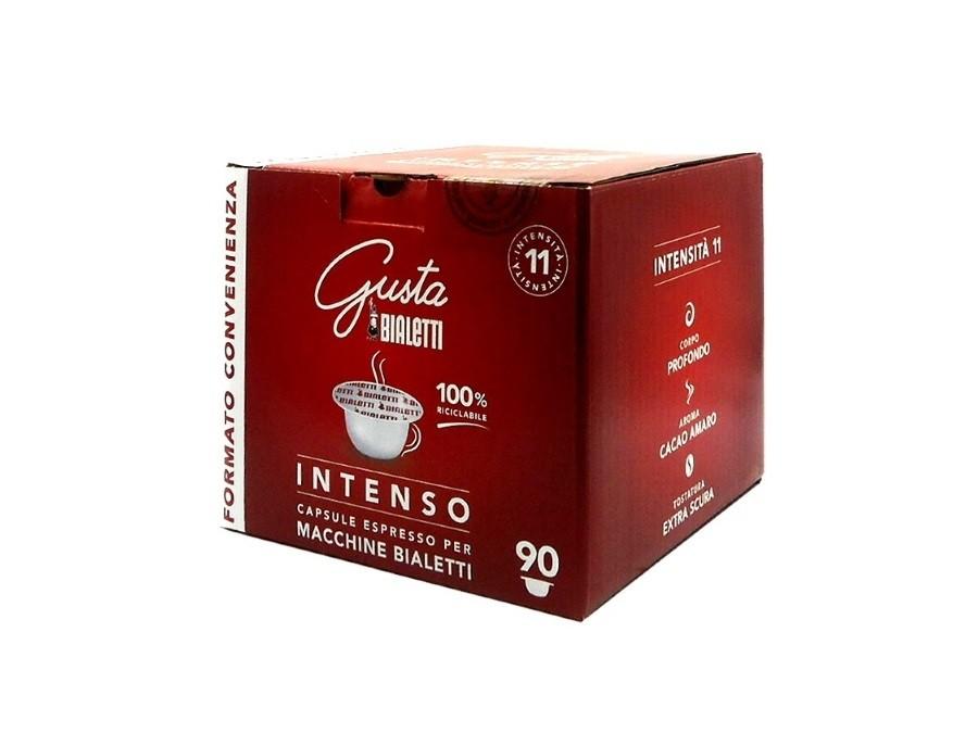 90 Capsule Caffè GUSTA INTENSO Bialetti