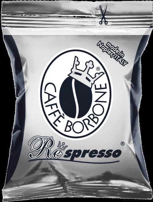 100 Capsule Borbone Respresso Compatibili Nespresso Miscela Nera