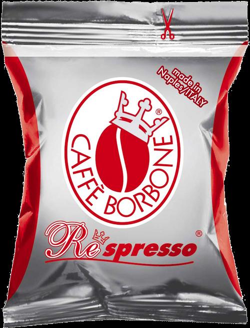 100 Capsule Borbone Respresso Compatibili Nespresso Miscela Rossa