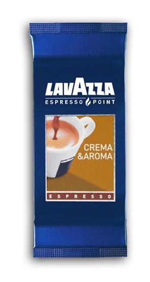 100 Capsule LAVAZZA Crema e Aroma Cialde Espresso Point