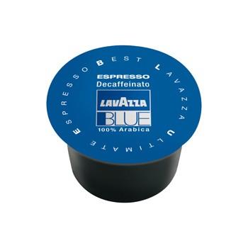 100 Capsule di Caffe' LAVAZZA BLUE Gusto Decaffeinato