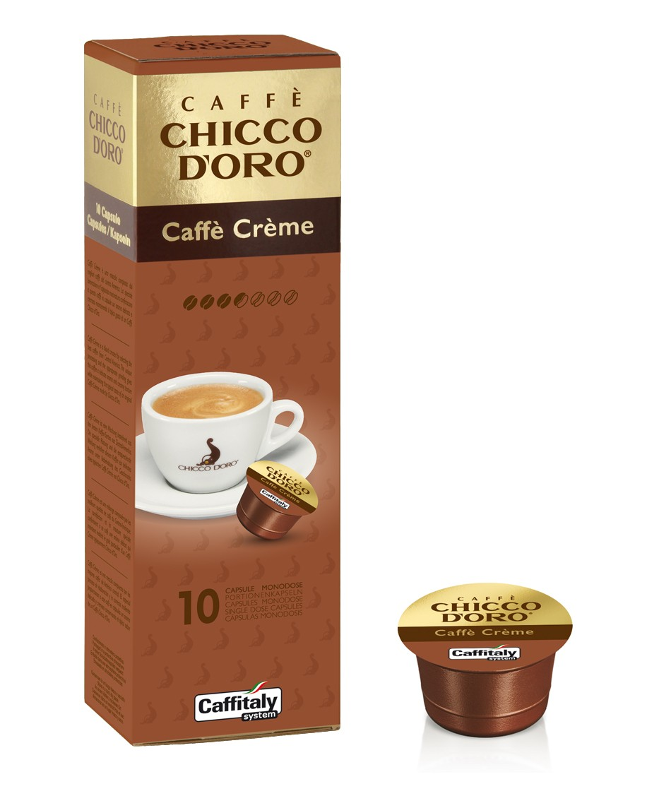 10 Capsule CAFFITALY - Chicco D'Oro CAFFE' CREME