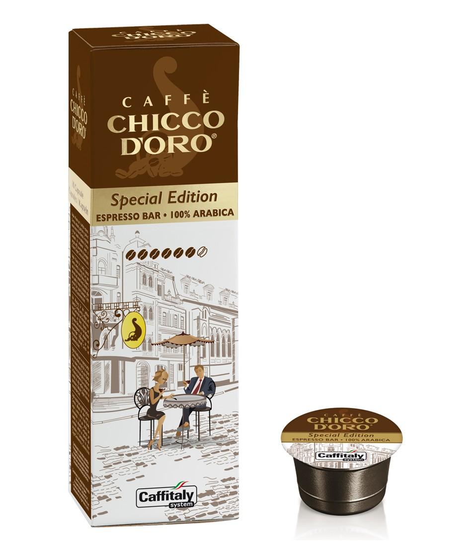 10 Capsule CAFFITALY - Chicco D'Oro ESPRESSO BAR
