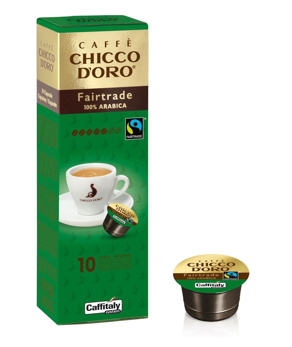 10 Capsule CAFFITALY - Chicco D'Oro FAIR TRADE