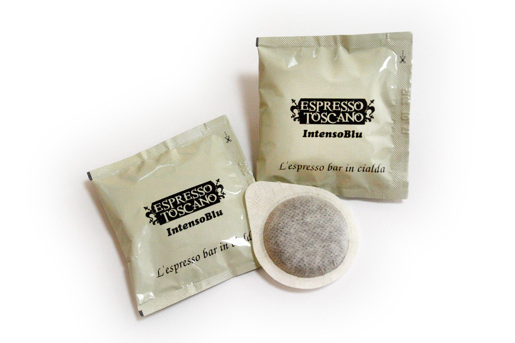 100 cialde filtro carta ESE 44 Espresso Toscano