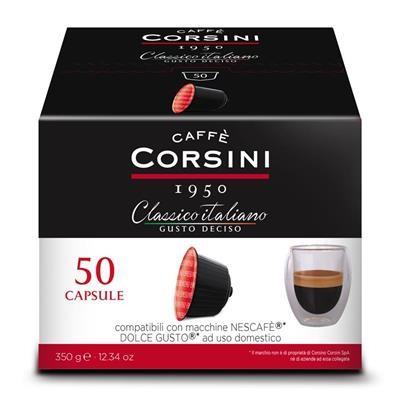 100 Capsule Compatibili Nescafè Dolce Gusto Caffe Corsini Gusto DECISO