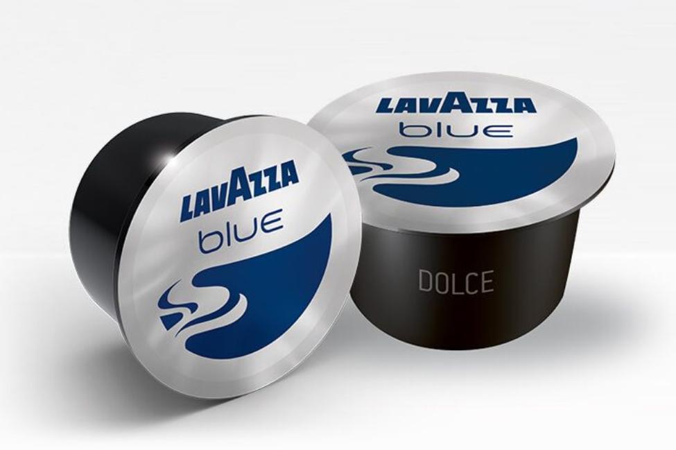 100 Capsule di Caffe' LAVAZZA BLUE Gusto DOLCE 100% Arabica