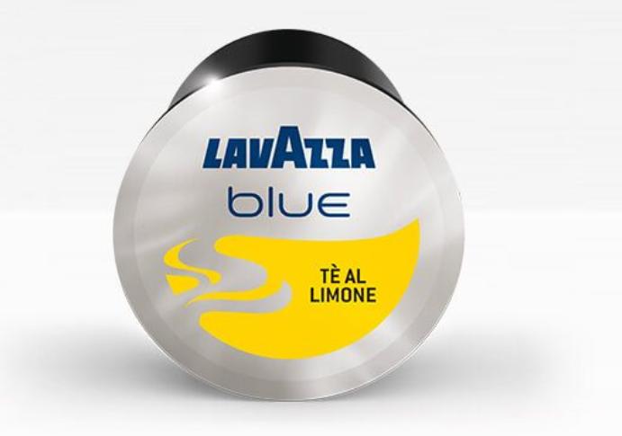 50 Capsule di The LAVAZZA BLUE gusto THE AL LIMONE