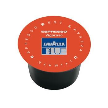 100 Capsule di Caffe' LAVAZZA BLUE Gusto VIGOROSO