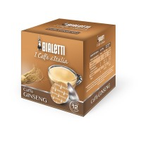 12 Capsule Caffe' BIALETTI Gusto GINSENG