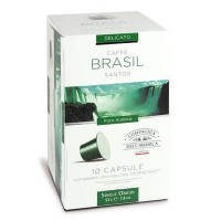 10 Capsule Compatibili Nespresso Caffe' Corsini Monoarabica Brasile