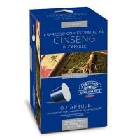 10 Capsule Compatibili Nespresso Caffe' Corsini Caffe' Al Ginseng