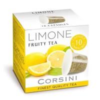 10 Capsule Compatibili Nespresso Caffe' Corsini Te' Al Limone