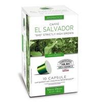 10 Capsule Compatibili Nespresso Caffe' Corsini Monoarabica El Salvador